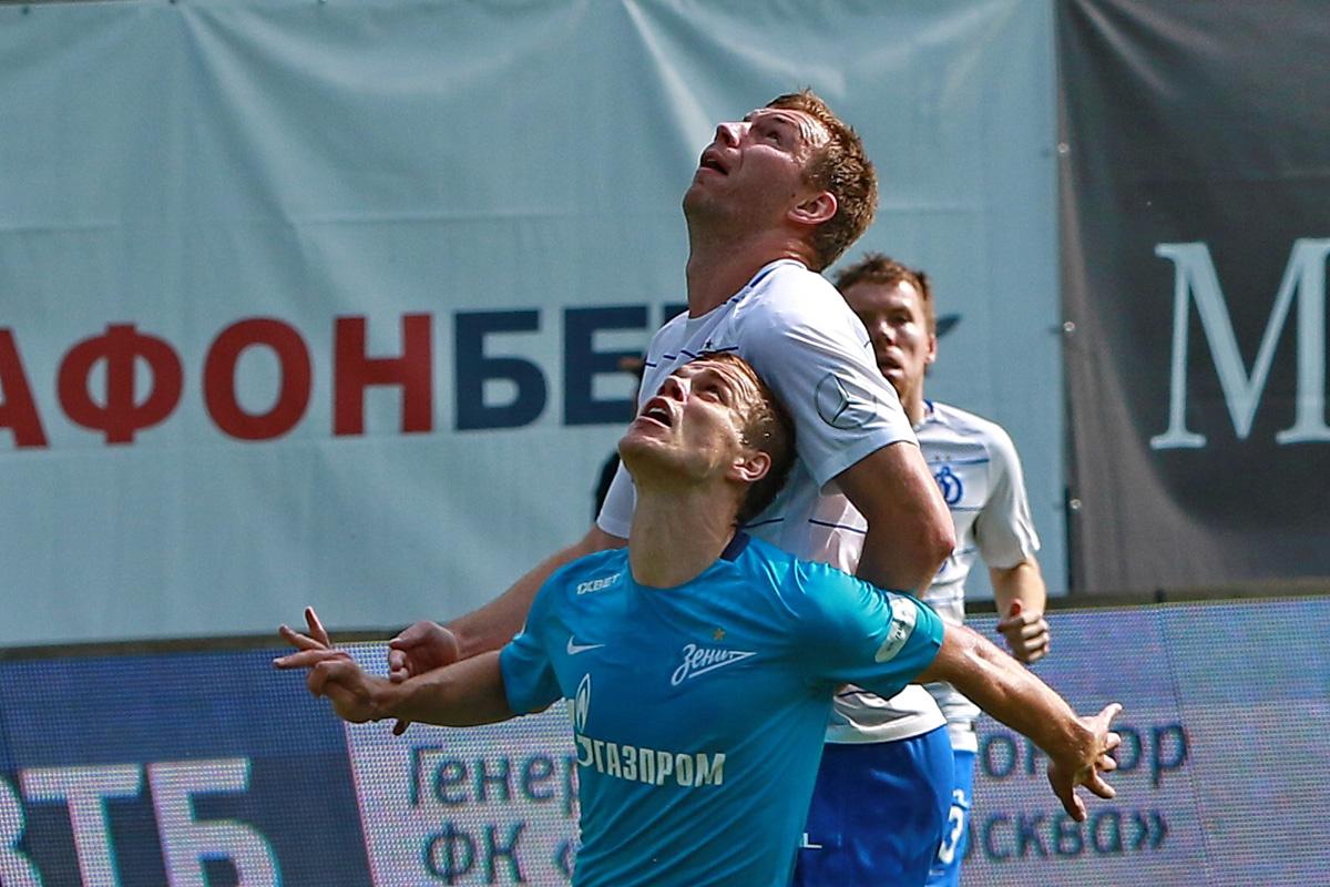 «Динамо» — «Зенит»: ничья в пользу москвичей.