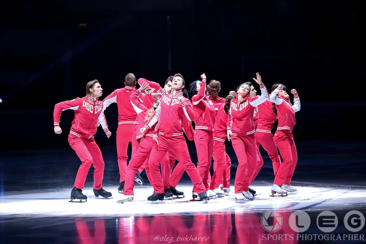 Шоу Олимпийцев «Гордость нации. Чемпионы – Москве!».