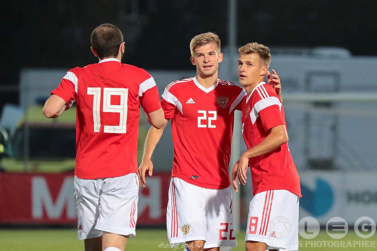Футбол. Молодёжная сборная России сыграла вничью с Египтом.