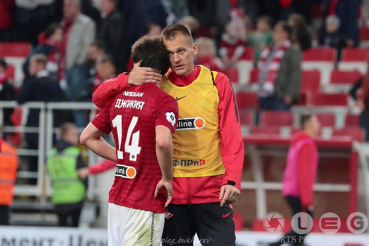 «Спартак» — «Ахмат». Первое поражение красно-белых в нынешнем чемпионате.