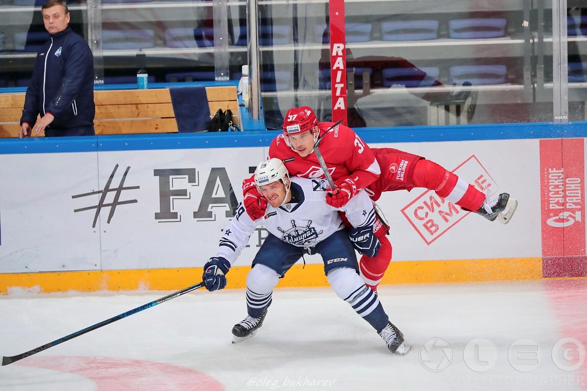 КХЛ: «Спартак» одерживает вторую победу подряд.