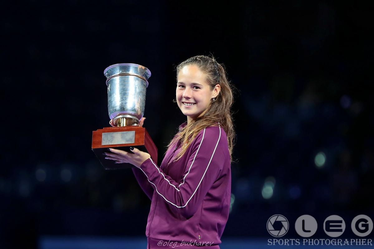 Дарья Касаткина стала чемпионкой «ВТБ Кубок Кремля»