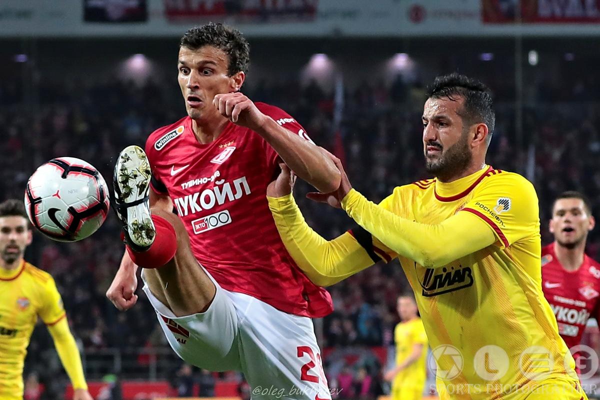 «Спартак»- «Арсенал». Третье домашнее поражение подряд красно-белых.