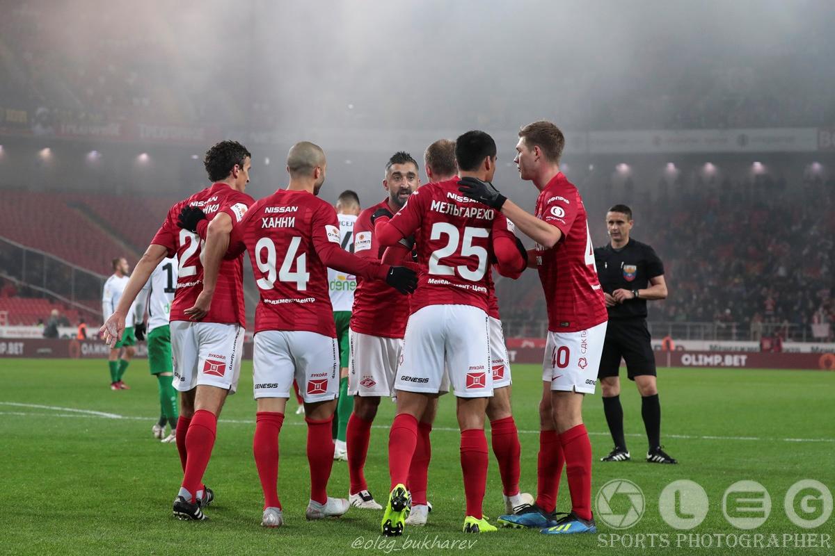 «Спартак» побеждает «Анжи» и выходит в 1/4 Кубка России.