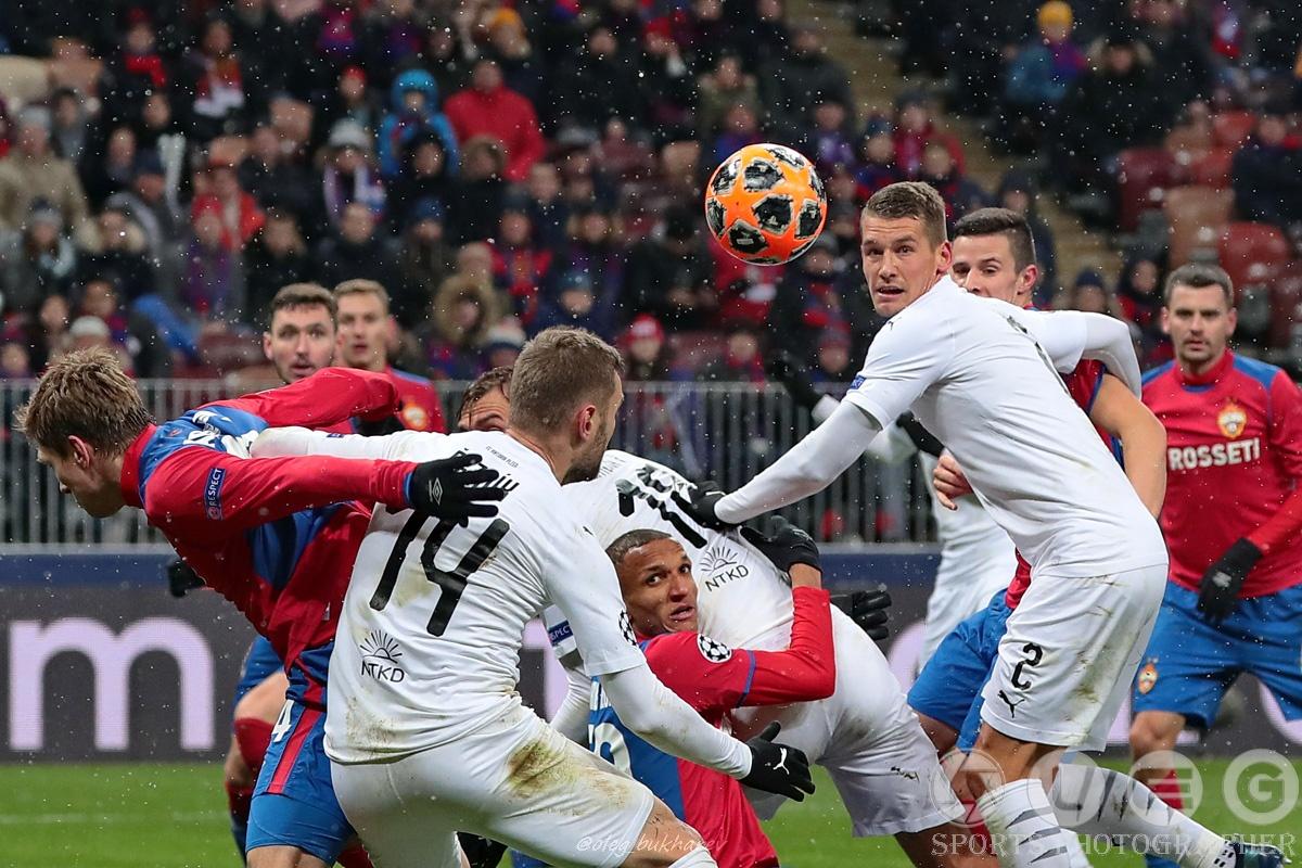 Армейцы в последнем домашнем матче группового раунда Лиги чемпионов уступили «Виктории».