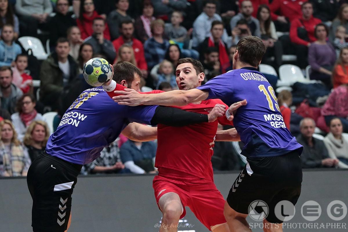 «Спартак» и «Чеховские медведи» сыграли вничью в матче Суперлиги