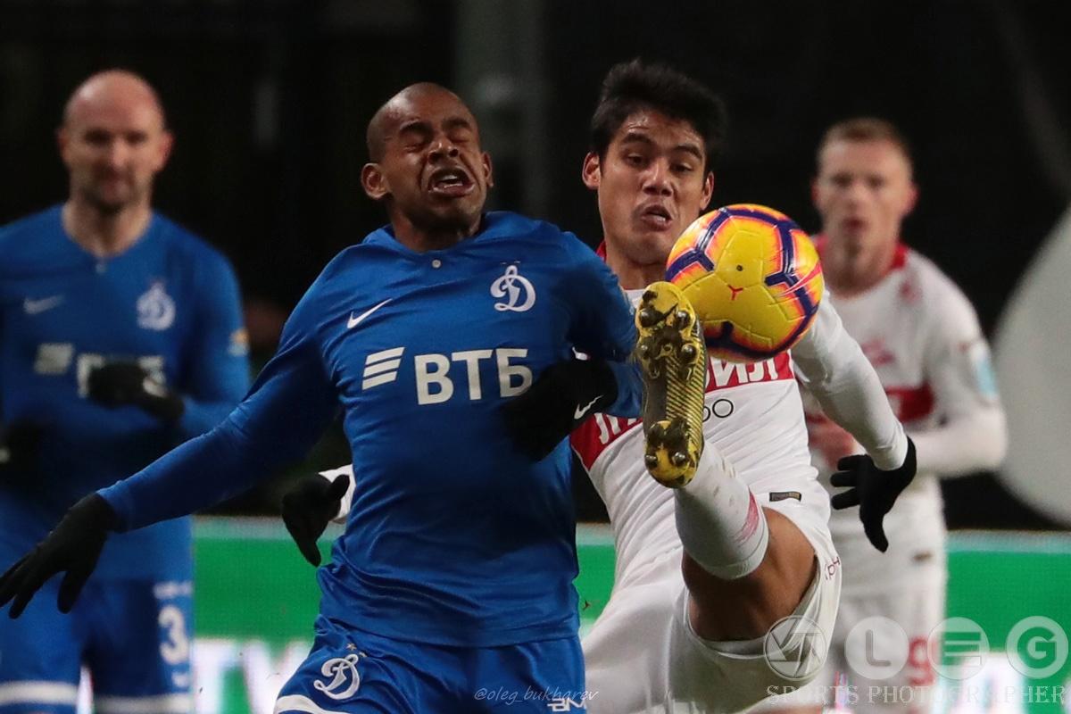 РПЛ. Красно-белые побеждают в дерби с «Динамо».