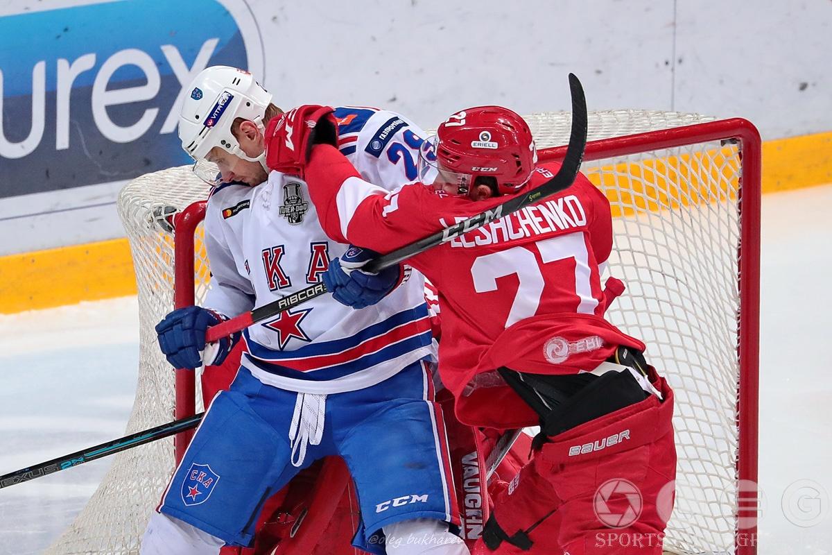 КХЛ. «Спартак» уступил в шести матчах серию первого раунда.