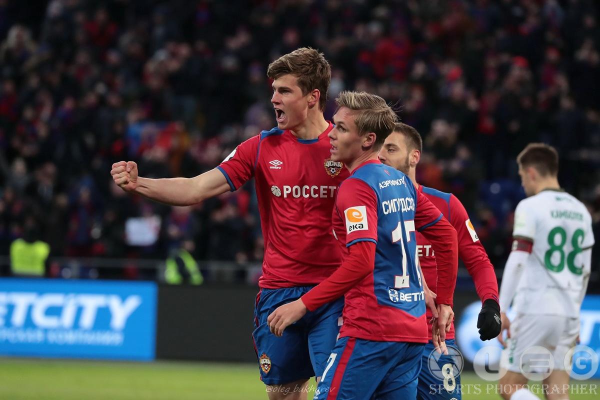 РПЛ. ЦСКА убедительно переиграл казанский «Рубин».