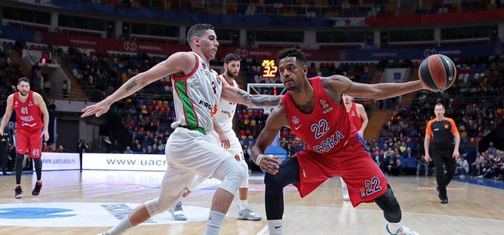 ЦСКА завершил победой регулярный чемпионат Евролиги, расквитавшись с «Басконией» за неудачу в гостях.