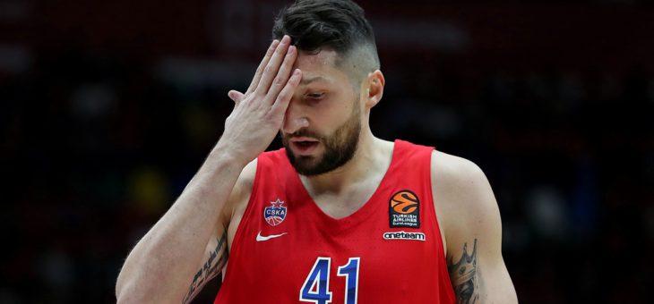 Евролига. ЦСКА уступил «Басконии» во втором матче плей-офф.