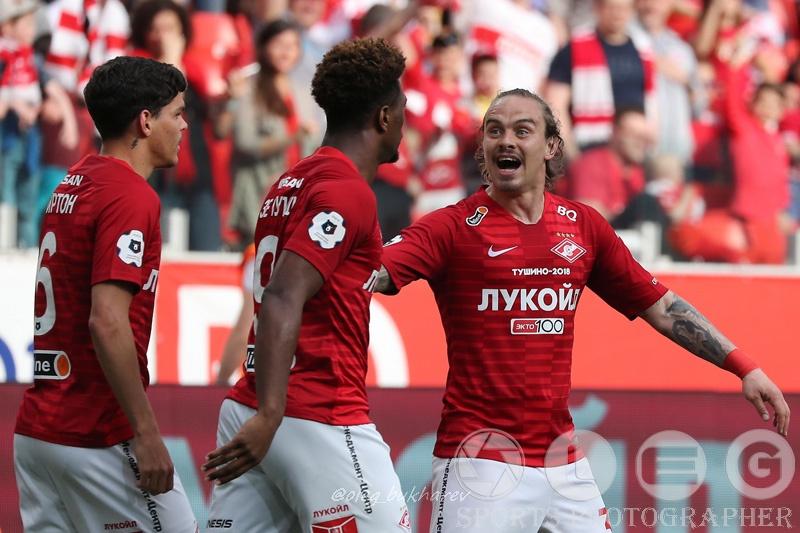 "РПЛ. ""Спартак"" благодаря голу Зе Луиша переиграл ""Уфу""."