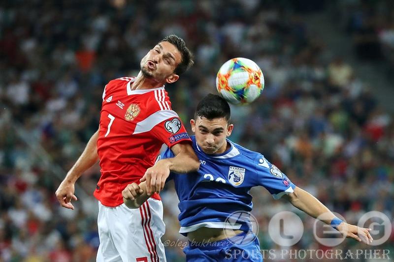 Россия переиграла Кипр в Нижнем Новгороде