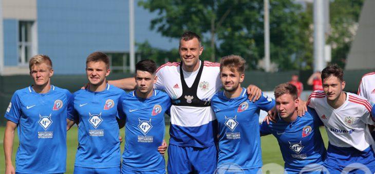 Россия — «Чертаново». 6:0 в контрольном матче